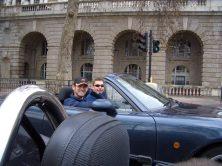 A drive through London
