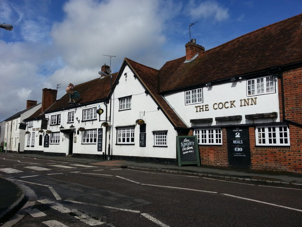 Milton Keynes and Chilterns Club Night @  Cock Inn Wing