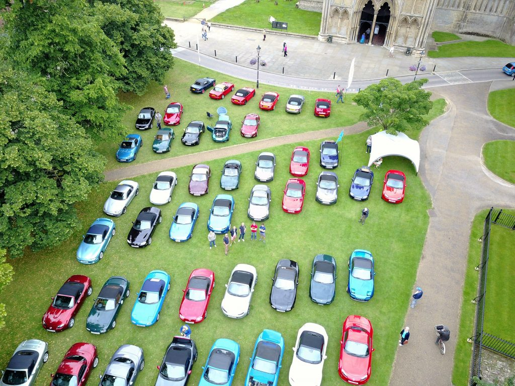 Ely – Cars on the green