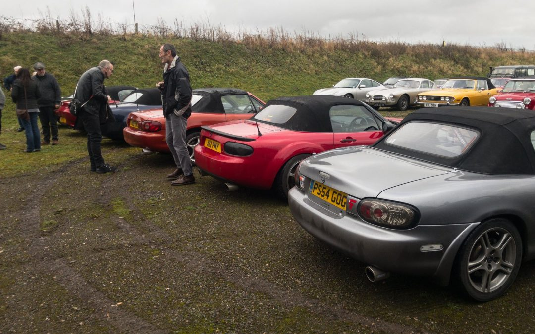 Great Western Roadsters New Years Day Run