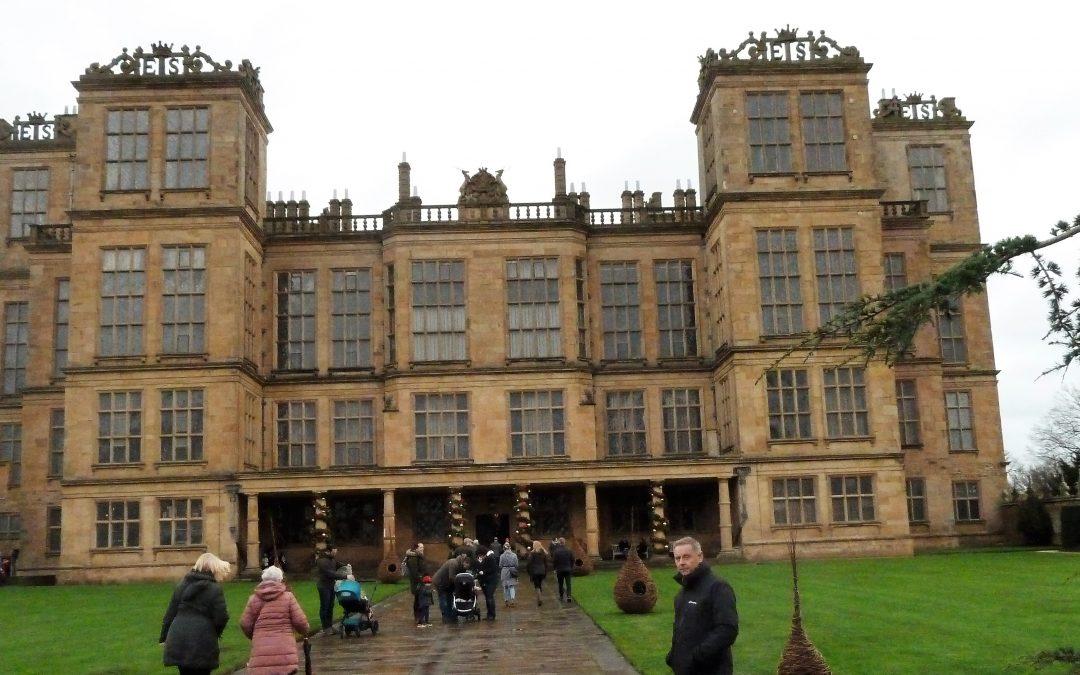 Hardwick Hall, More Glass than wall