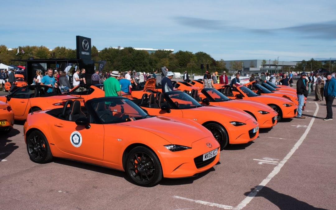 Gallery: Over 2,500 MX-5s pack Gaydon for Anniversary National Rally
