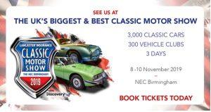 NEC_Classic_Motor_Show_2019 @ Birmingham NEC